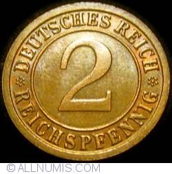 Image #1 of 2 Reichspfennig 1936 F