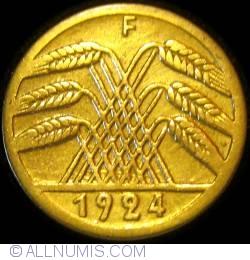 Image #2 of 5 Rentenpfennig 1924 F