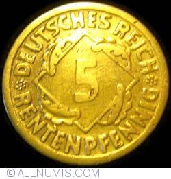Image #1 of 5 Rentenpfennig 1924 F