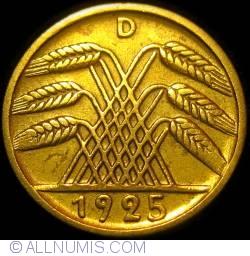Image #2 of 5 Reichspfennig 1925 D