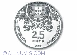 2.5 Euro 2013 - 150th Anniversary of Red Cross