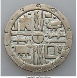 Image #1 of 1000 Pesos 1997 So - Aniversarea de 30 de ani de la F.A.O. și Banca Centrală