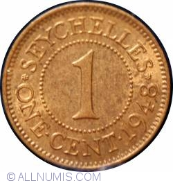 Image #2 of 1 Cent 1948