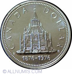 Image #1 of 1 Dollar 1976 - Parliament Library