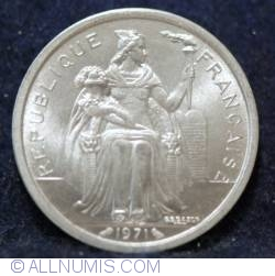 Image #2 of 2 Francs 1971