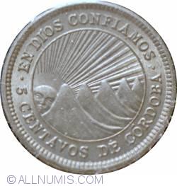 Image #1 of 5 Centavos 1954