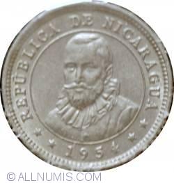 Image #2 of 5 Centavos 1954