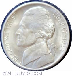 Image #1 of Jefferson Nickel 1938 S