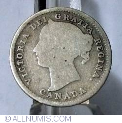 Image #2 of 10 Cents 1886 (Large 6)