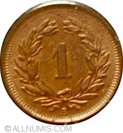 Image #2 of 1 Rappen 1913