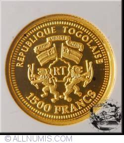 Image #1 of 1500 Francs 2006 - W.A. Mozart