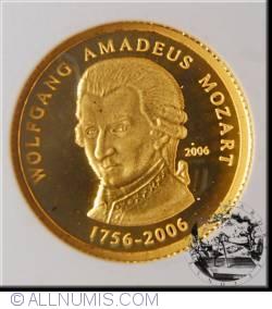 Image #2 of 1500 Francs 2006 - W.A. Mozart