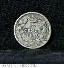 Image #1 of 5 Cents 1888