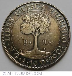 Imaginea #2 a 8 Reales 1840