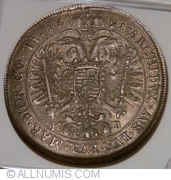 Image #2 of 1 Thaler 1691