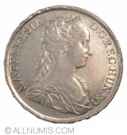 Imaginea #1 a 1 Thaler 1742 (bust cu doua cozi in spate)