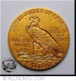 Image #2 of 2.5 Dollars 1928