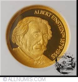Image #1 of 5 Dollars 2004 - Albert Einstein