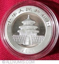 Imaginea #2 a 10 Yuan 2001 - Panda