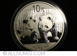 Imaginea #1 a 10 Yuan 2010 - Panda