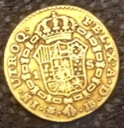 Image #2 of 1 Escudo 1784 JD