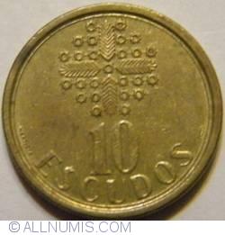 Image #2 of 10 Escudos 1991