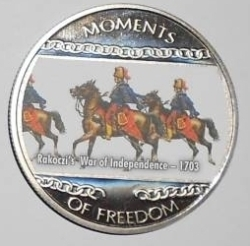 10 Dollars 2004 - Moments of Freedom - Rakoczi's War of Independence