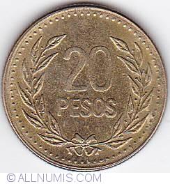 Imaginea #1 a 20 Pesos 1992