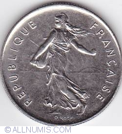 Image #2 of 5 Francs 1991