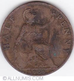 Image #1 of Halfpenny 1908