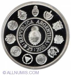 Image #2 of 25 Pesos 2000