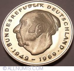 2 Mark 1982 D - Theodor Heuss