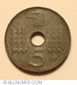 Imaginea #1 a 5 Reichspfennig 1940 D