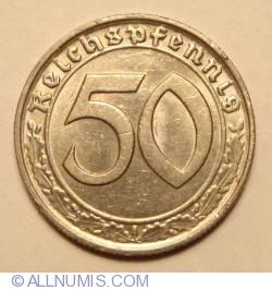 Image #1 of 50 Reichspfennig 1938 B