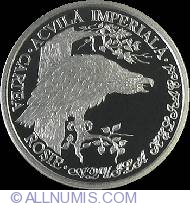 Image #2 of 10 Lei 2005 - Red Book of Moldova Republic - Imperial Eagle