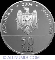 Image #1 of 50 Lei 2004 - 380th Anniversary of Bishop Dosoftei birth