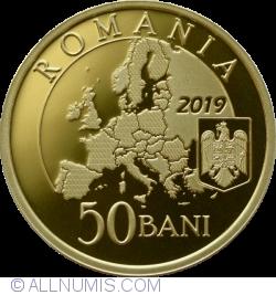 50 Bani 2019 - Președinției Consiliului Uniunii Europene