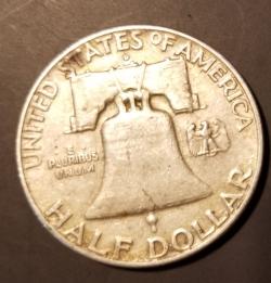Image #2 of Half Dollar 1960 D