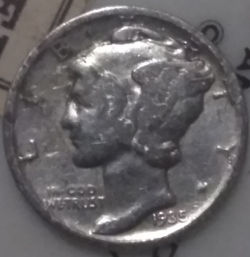 Image #1 of Dime 1935