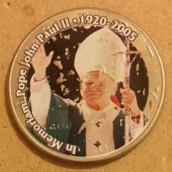 Half Dollar 2005 D - Pope John-Paul II