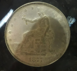 Image #2 of [COUNTERFEIT] 1 Dollar 1877
