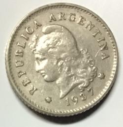 Image #1 of 10 Centavos 1937