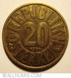Image #1 of 20 Groschen 1950