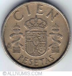 Image #1 of 100 Pesetas 1986