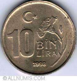 10000 (10 Bin) Lira 1998