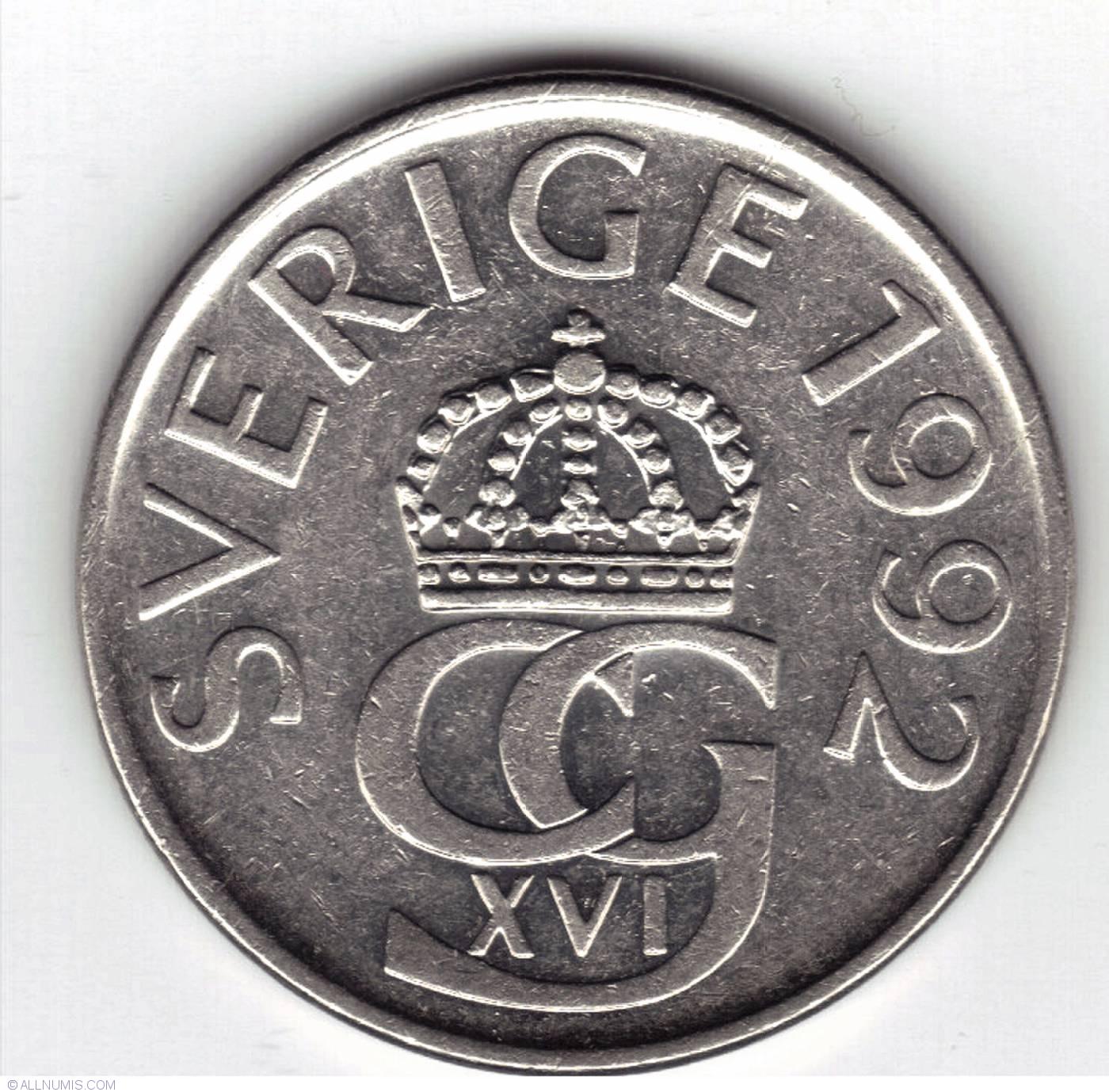5 Kronor 1992