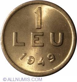 Imaginea #2 a 1 Leu 1949