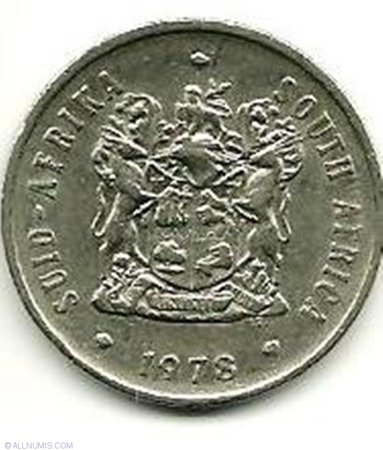 Coins of All Nations South Africa 20 cents 1978 UNC