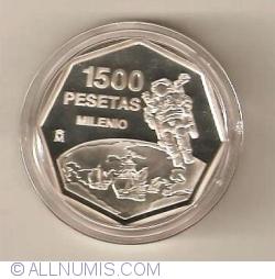 Image #2 of 1500 Pesetas 1999 - Millennium