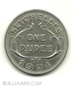 Imaginea #2 a 1 Rupee 1974